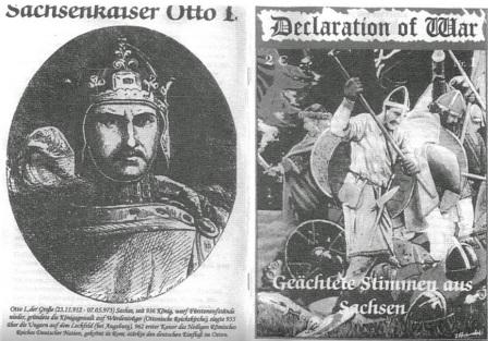 """Umschlag der Zeitschrift """"Declaration of War"""", Nr. 1 (2005)"""