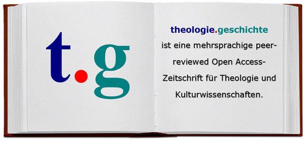 Titelband der Zeitschrift theologie.geschichte, Band 1 (2006)